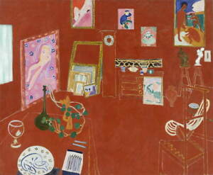 Henri-Matisse-The-Red-Studio-Giclee-Art-Paper-Print-Poster-Reproduction