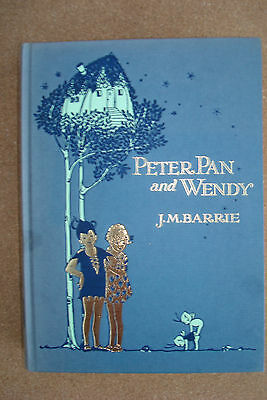 Peter Pan and Wendy by J.M.Barrie - Illustrated in colour by Mabel Lucie Attwell