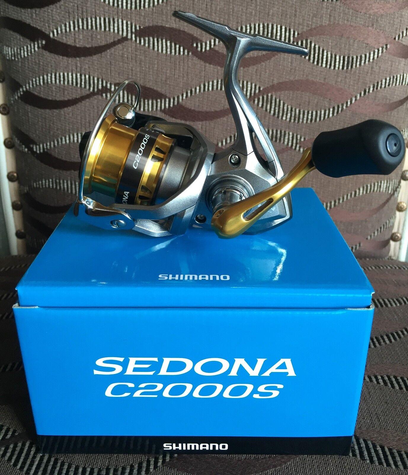 Shimano  Sedona C2000S FI Spinnrolle  first-class service