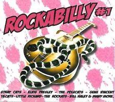 ROCKABILLY #1 CD - new - Stray Cats Polecats Rockats 13 Cats Swing Cats
