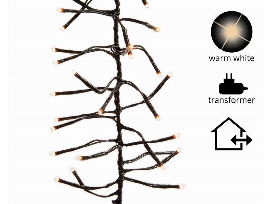 494702 Lumineo Guirlande Lumineuse 1512 Leds 13,5m Led Blanc Chaud Lumière Du