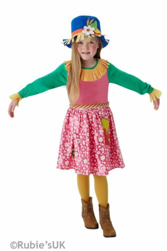 Girls Mrs Scarecrow Costume Kids School Book Week Story FAncy Dress Outfit Child