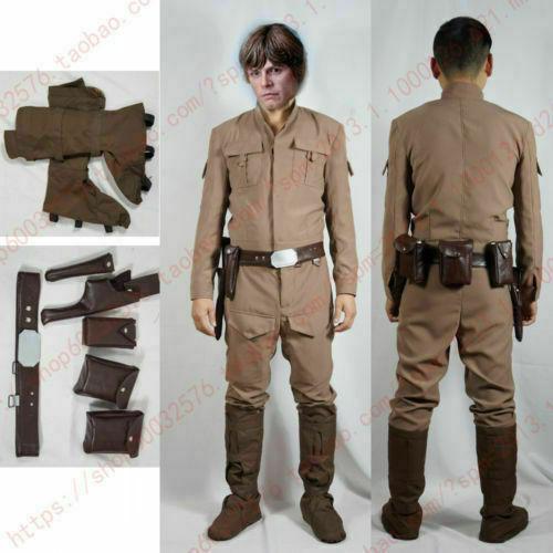 Episode V The Empire Strikes Back Luke Skywalker Cosplay Costume /& Star Wars