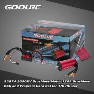 Original-GoolRC-S3674-2650KV-Motor-120A-ESC-and-Program-Card-for-1-8-RC-Car-W4O0