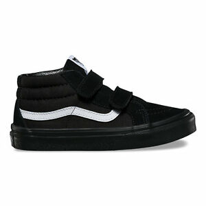 b36da3e638464d VANS KIDS SK8-Mid Reissue V Black Black All Sizes 11- 6 Fast ...