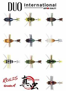 DUO-Realis-Grade-A-Shinmushi-Topwater-Cicada-Bug-Lure-Select-Color-s