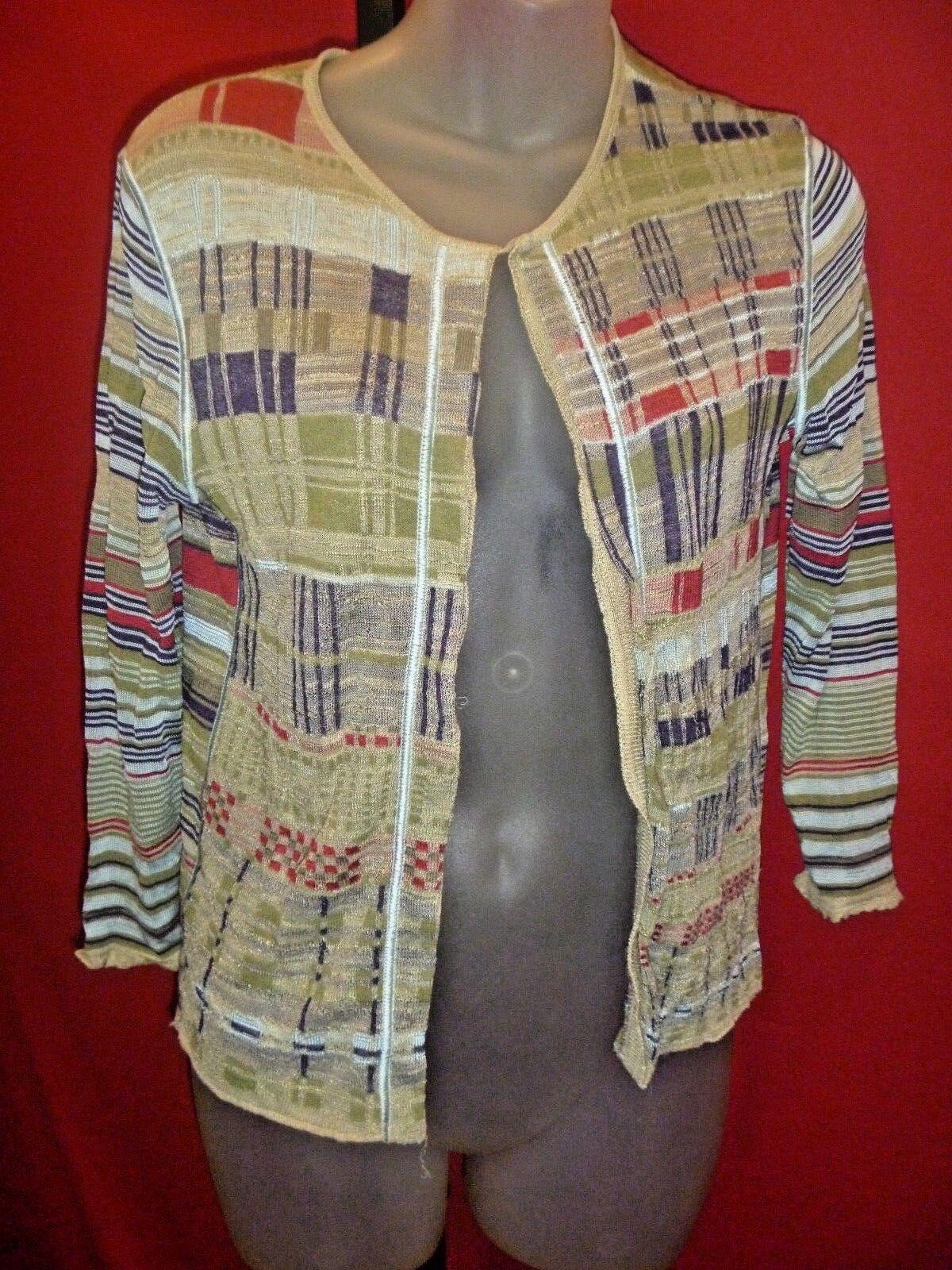 KENZO PARIS Authentic Women's striped Sweater Sz Small