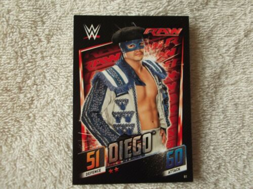 "Topps Slam Attax-puis maintenant forever /""Diego/"" #81 trading card"