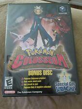 NEW SEALED Pokemon Colosseum Bonus Disc MINT NOT FOR RESALE Nintendo GameCube