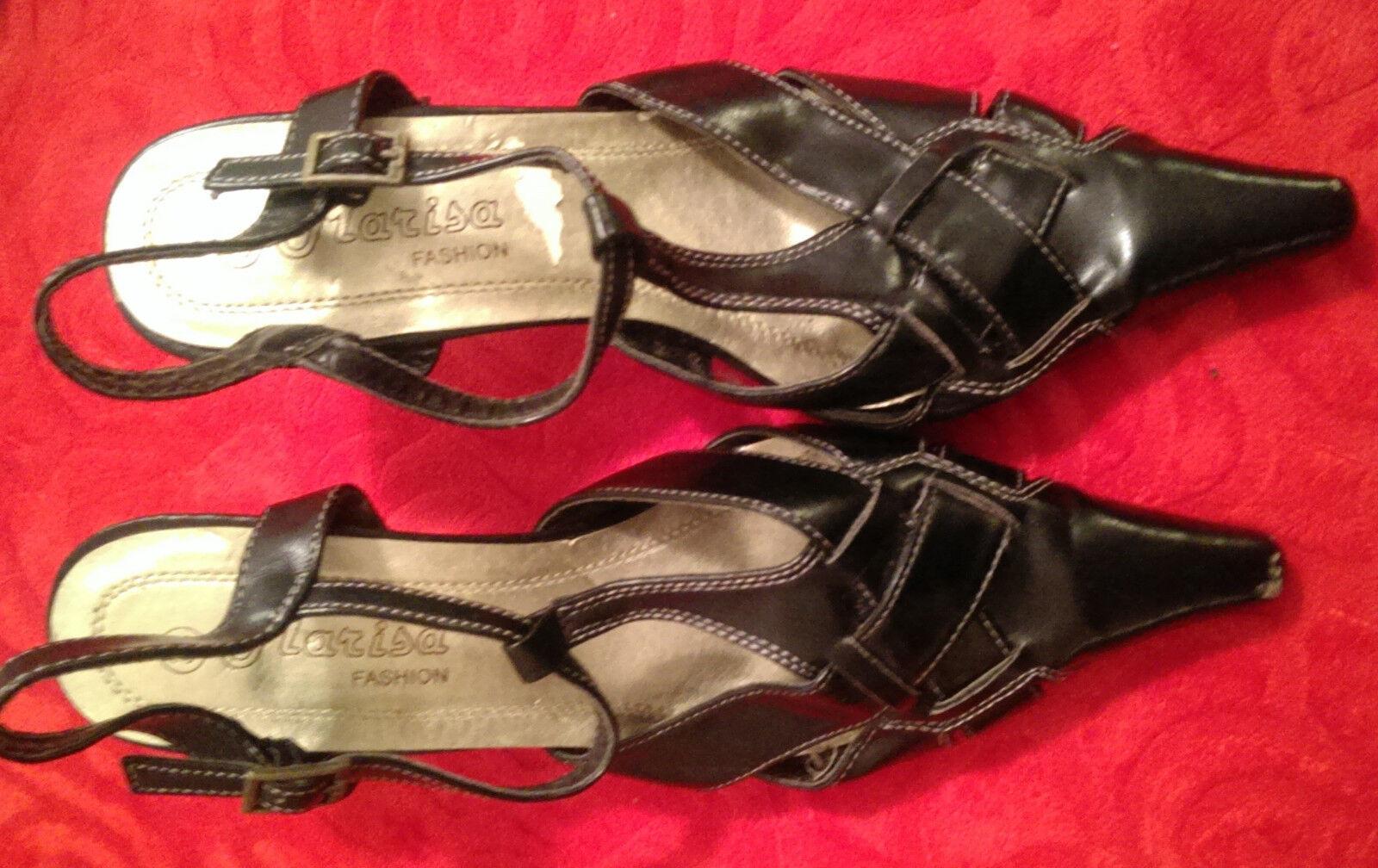 Moda jest prosta i niedroga Marisa fashion, High Heels Pumps, schwarz, Gr 38, nur 1 x getragen