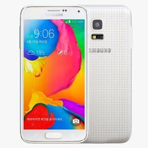 Samsung-Galaxy-S5-Mini-SM-G800F-16-Go-Blanc-Debloque-Sans-SIM-bon-etat