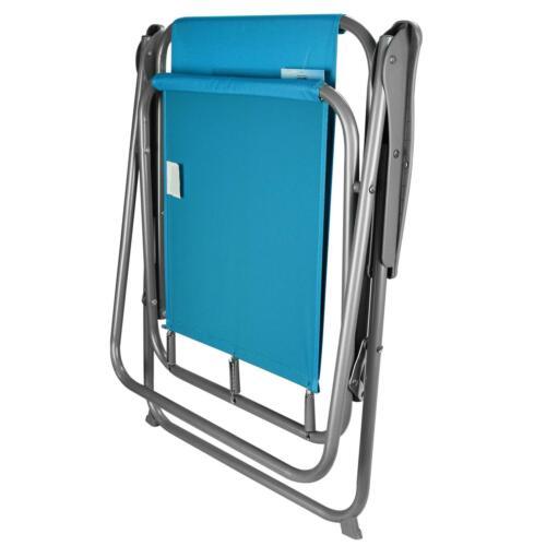 Garden Patio Folding Spring Deck Chair Camping Beach Picnic Fishing Outdoor Seat