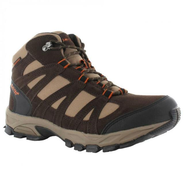 HI-TEC MENS ALTO WP WATERPROOF OUTDOORS TRAIL WALKING HIKING BOOTS SHOES SIZE