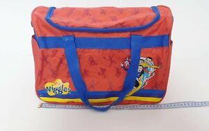 The-Wiggles-PVC-Large-Overnight-Bag-Original-Wiggles-Duffle-Carry-Kids-Bag