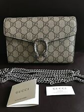 Authentic GUCCI Dionysus GG Supreme Chain Wallet