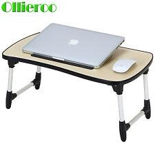 Ollieroo Folding Laptop Desk Portable Sturdy Notebook Tray Bed Table Read Desk