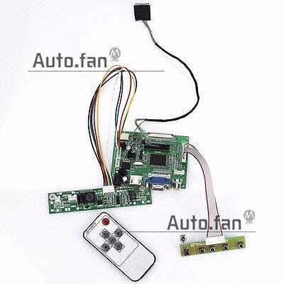 for LP133WX3-TLA6 LTN133AT0 1280x800 LCD Controller Driver Board HDMI+VGA+2AV