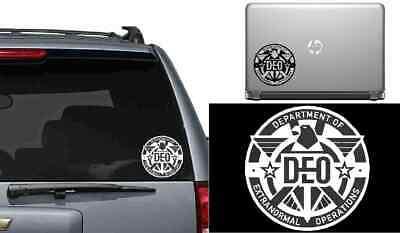 "Deo Vindice 13 Stars Bars 1st National Vinyl Decal Bumper Sticker 3.75/""x7.5/"""