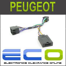 CTSPG006-CLARION Peugeot 206 307 406 607 80 Partner Steering Wheel Stalk Adaptor