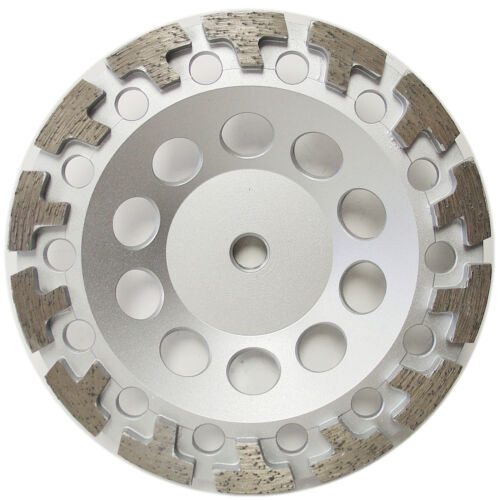"7"" T-Segment Concrete Diamond cup wheel for Anger Grinders 5//8""-11 Arbor"