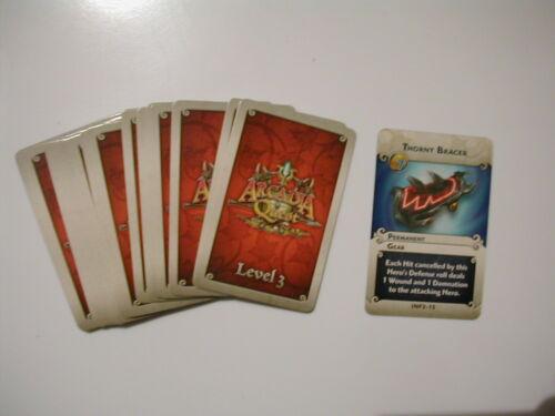 LEVEL 3  UPGRADE    CARDS ARCADIA QUEST INFERNO