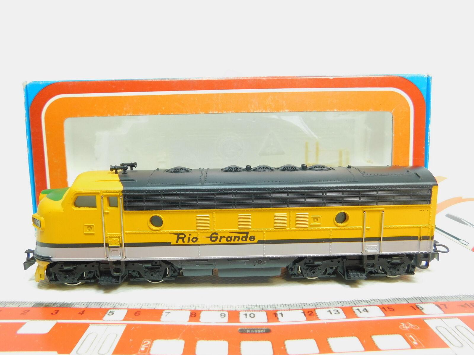 Bo63-1    H0/AC 3062 guss-us Locomotiva diesel-usa diesel-usa diesel-usa F 7 Rio Grande,TOP + be0655