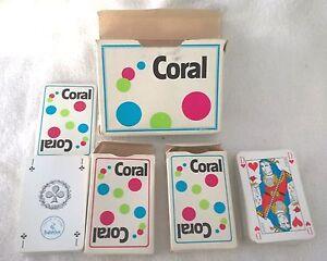 ancien-et-rare-boite-de-2-jeu-de-carte-CORAL-heron
