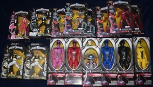 Mighty Morphin Power Rangers Figurines Héritage Bandai Mmpr Lot