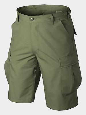 Helikon Tex Army Bdu Outdoor Tempo Libero Shorts Pantaloni Cargo Us Brevemente Verde Oliva Green-mostra Il Titolo Originale Vendite Economiche