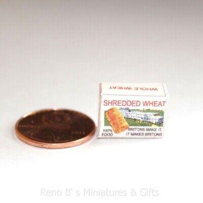 DOLLHOUSE Miniatures 1:12 Scale Miniature Thin Whole Wheat Crackers Box
