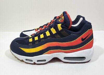 Nike Air Max 95 Houston Away Mens Running Shoes Blue White Size 9 | eBay