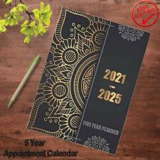 2021 2025 Planner 5 Year Monthly Calendar Organizer Journal