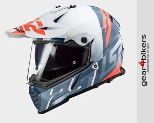 LS2 MX436 Pioneer EVO Evolve Motorcycle Scooter Enduro Supermoto MX Helmet