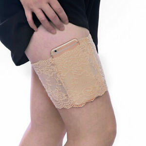 1-PAIR-2pcs-Elastic-Anti-Chafing-Prevent-Thigh-Chafing-Sexy-Lace-Leg-Bands