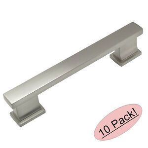 Incroyable Image Is Loading 10 Pack Cosmas Cabinet Hardware Satin Nickel Contemporary