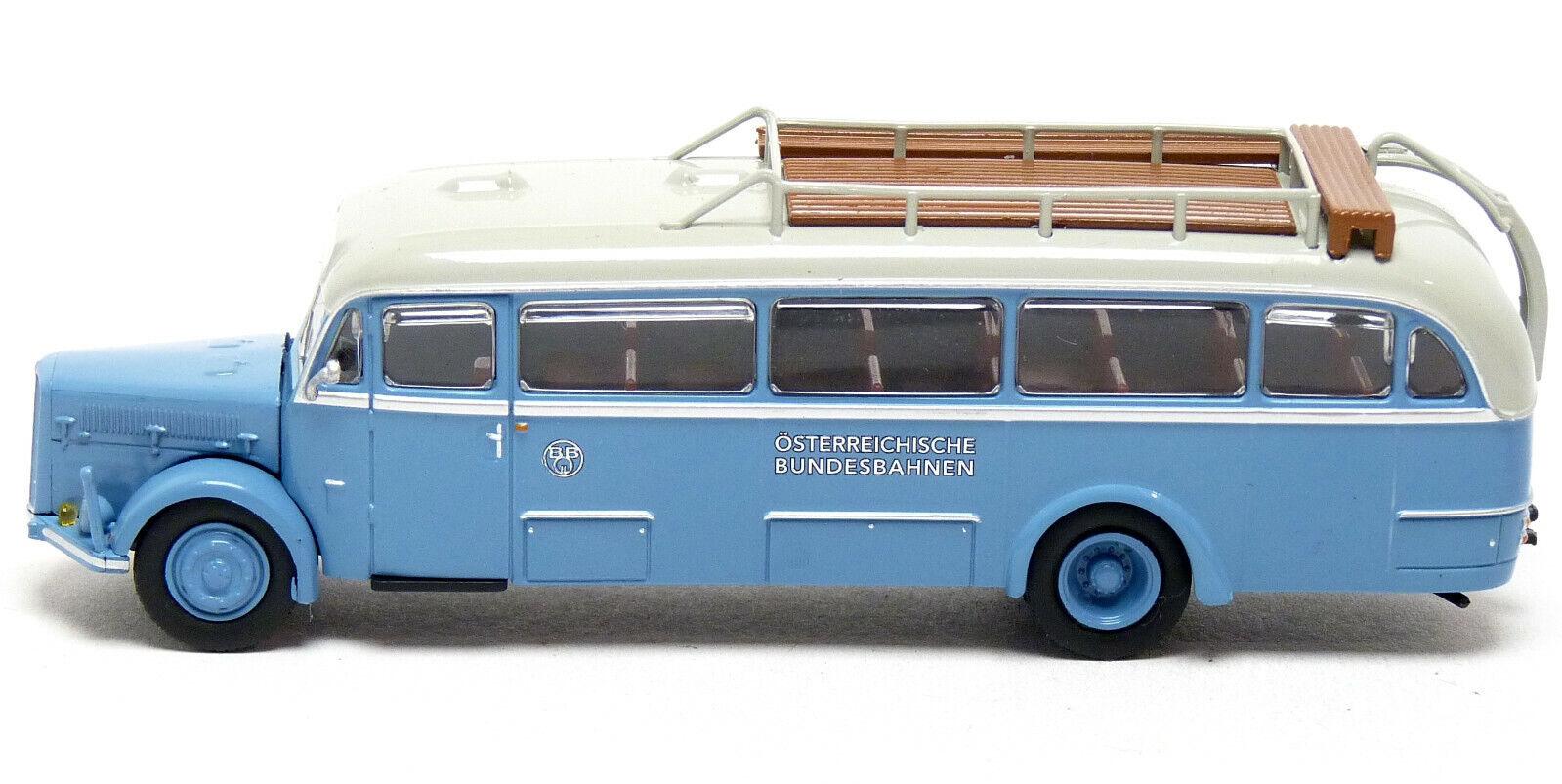 Ácida BT 4500 bus österreiche-Brekina ho modelo 1:87-58072 #e