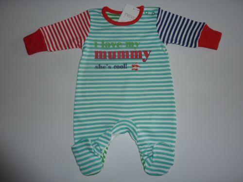 //3.4 kg NW 7.8 LB Rayures Sleepsuit Premier Taille PROCHAINE J/'aime ma maman elle est cool environ 3.54 kg