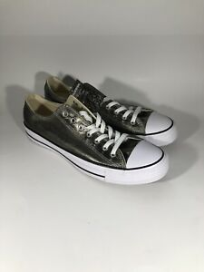 Details about New Mens 11 Converse Chuck Taylor All Star CTAS OX Metallic Herbal $60 153182F