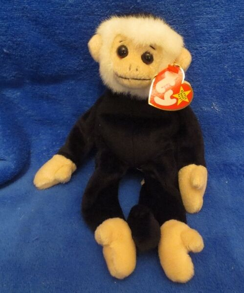 7995cf017a7 Retired Ty Beanie Baby Mooch The Monkey MINT Tags 1998 Errors RARE Ee7 for  sale online