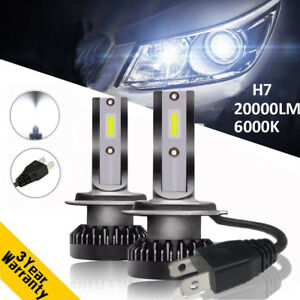 110w 20000lm auto cree led scheinwerfer lampen h7 leuchten. Black Bedroom Furniture Sets. Home Design Ideas