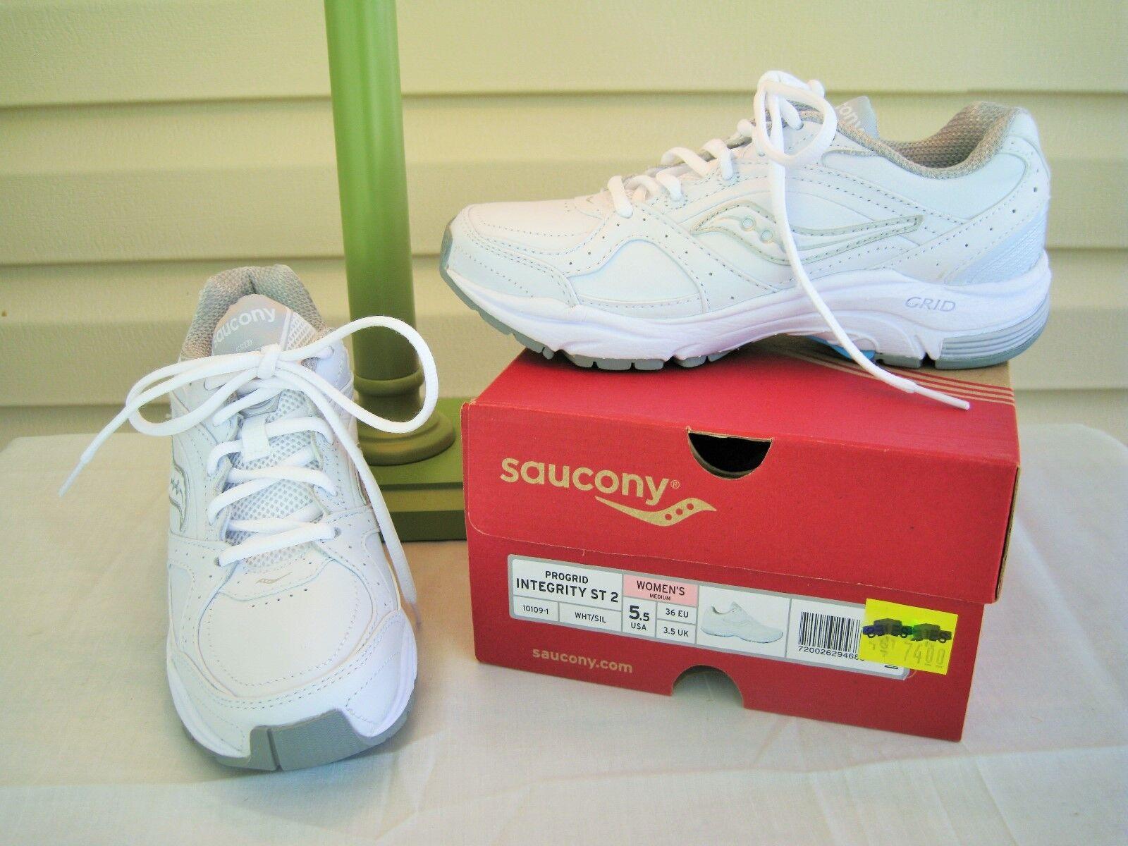 Saucony Integrity Womens White Walking Sneaker - NEW IN BOX
