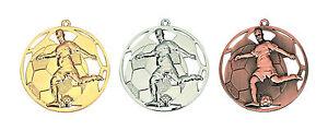 Medaillen Medaille Fußball gold silber bronze Staffelpreise Jede Anzahl möglich
