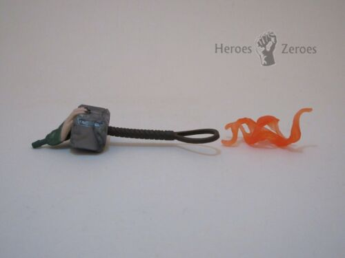 Marvel Legends Studios Thor Ragnarok HELA Hand Mjolnir Hammer and Flame Parts