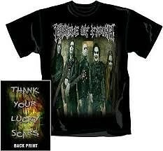 CRADLE-OF-FILTH-LUCKY-SCARS-T-SHIRT-NEUF