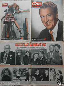# cine illustrato teatro tv cinema lucille ball gary cooper italian magazine#