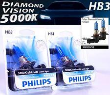 HB3 Philips Diamond Vision 5000K Halogen headlights 9005DVB1 HB3 12V 65W P20d