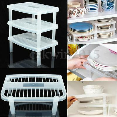 Kitchen Home Under Sink Shelf Sink In Dry Plate Dish Holder Organizer Storage