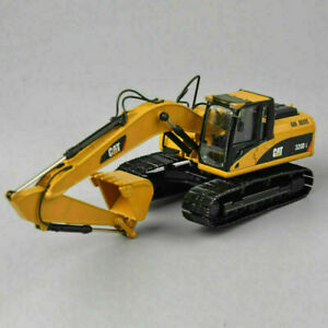 CAT-1-50TH-Yellow-320D-L-Diecast-Hydraulic-Excavator-Model-Car-Vehicles-Gifts