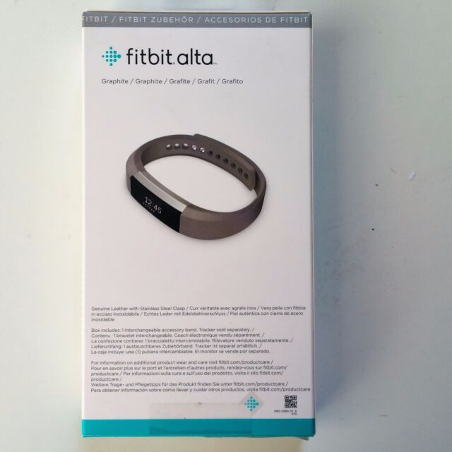 Fitbit ALTA Small Leather Band FB158LBGPS