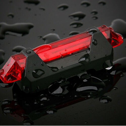 MTB Bike Bicycle Cycling USB Rechargeable LED Head Front Light Rear Tail Lamp
